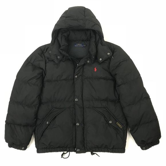 d9fe9bb9a Polo Ralph Lauren Mens Duck Down Puffer Jacket